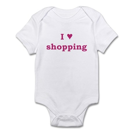 I Heart Shopping Infant Bodysuit