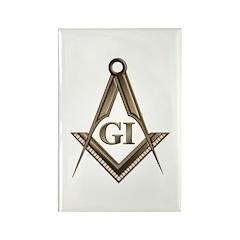 G.I. Mason Rectangle Magnet (100 pack)