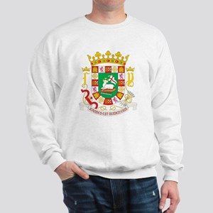 Puerto Rico Coat of Arms Sweatshirt