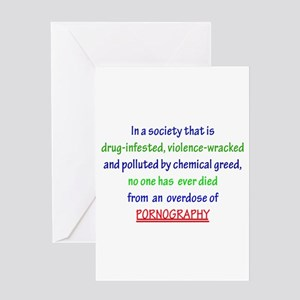 In society... Greeting Card