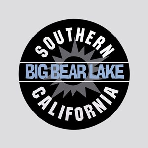 "Big Bear Lake California 3.5"" Button"