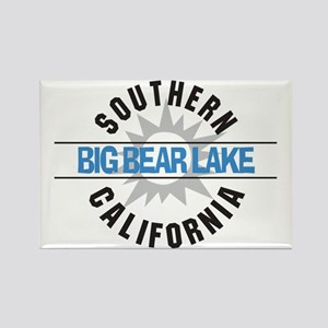 Big Bear Lake California Rectangle Magnet