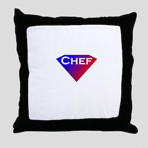 Super Chef Throw Pillow