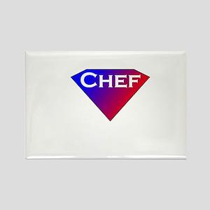 Super Chef Rectangle Magnet