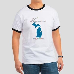Michigan gift Ringer T