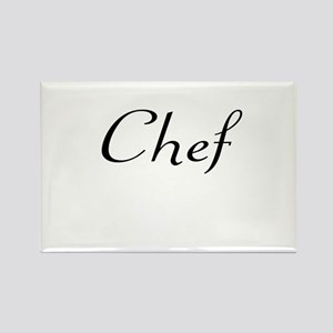 Chef Rectangle Magnet