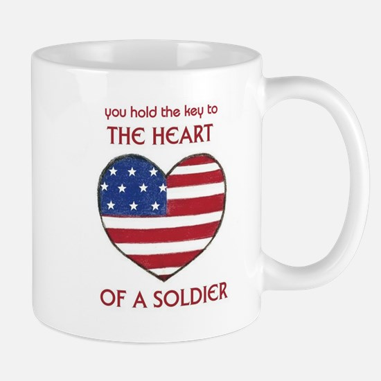 Key to the Heart/Soldier Mug