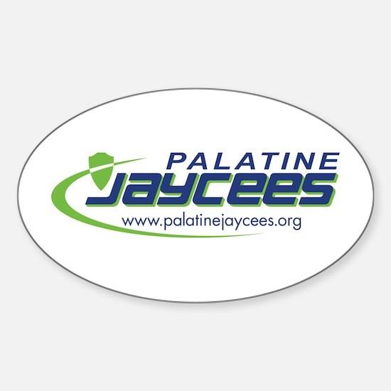 Cool Jaycee Sticker (Oval)