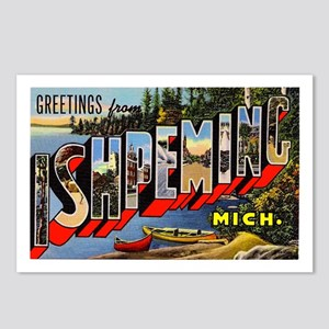 Ishpeming Michigan Greetings Postcards (Package of