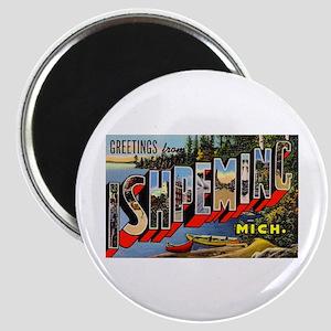 Ishpeming Michigan Greetings Magnet