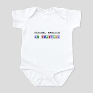 General Manager In Training Infant Bodysuit