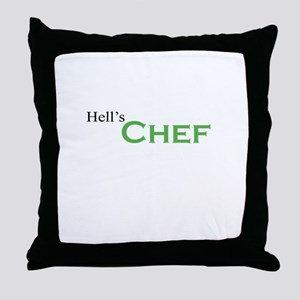 Hell's Chef Throw Pillow