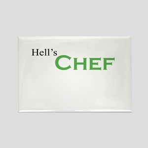 Hell's Chef Rectangle Magnet