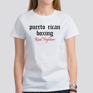 Puerto Rican Boxing Women's T-Shirt