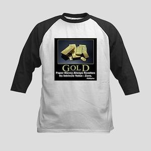 Gold Kids Baseball Jersey