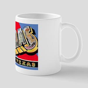 Dallas Texas Greetings Mug