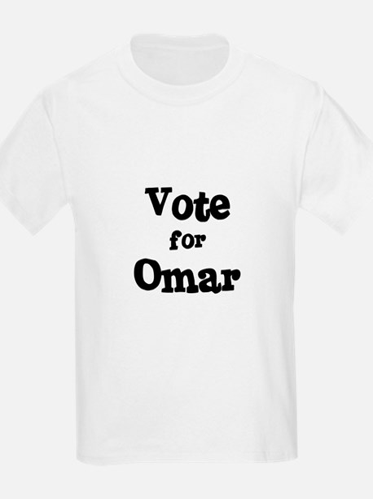 Vote for Omar Kids T-Shirt