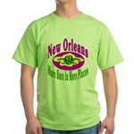 More Bars In More Places Green T-Shirt