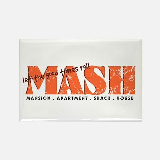 MASH Game Rectangle Magnet
