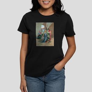 Jesus enters Jerusalem Women's Dark T-Shirt
