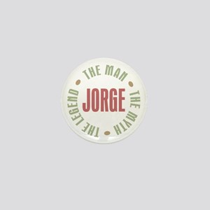 Jorge Man Myth Legend Mini Button