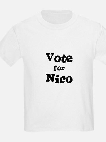 Vote for Nico Kids T-Shirt