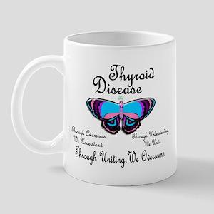 Butterfly Awareness 1 (Thyroid Disease) Mug