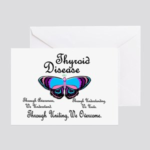 Butterfly Awareness 1 (Thyroid Disease) Greeting C