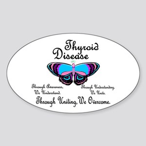 Butterfly Awareness 1 (Thyroid Disease) Sticker (O