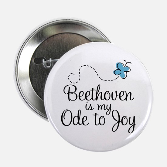 """Beethoven Ode To Joy 2.25"""" Button"""