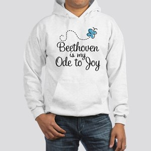Beethoven Ode To Joy Hooded Sweatshirt