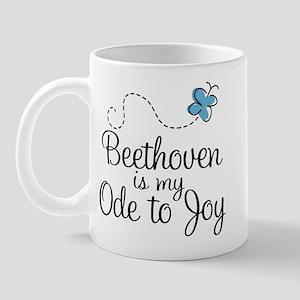 Beethoven Ode To Joy Mug