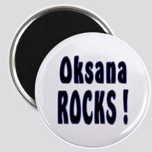 Oksana Rocks ! Magnet