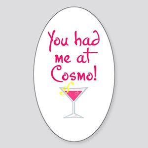 Cosmo - Oval Sticker
