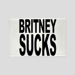 Britney Sucks Rectangle Magnet