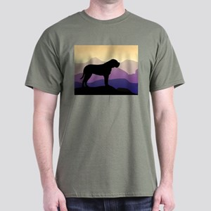 Purple Mountains Bullmastiff Dark T-Shirt