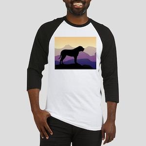 Purple Mountains Bullmastiff Baseball Jersey