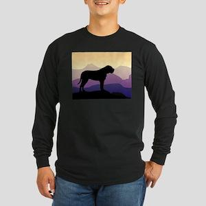 Purple Mountains Bullmastiff Long Sleeve Dark T-Sh