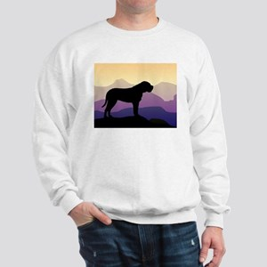 Purple Mountains Bullmastiff Sweatshirt