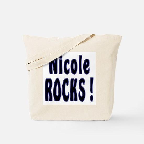 Nicole Rocks ! Tote Bag