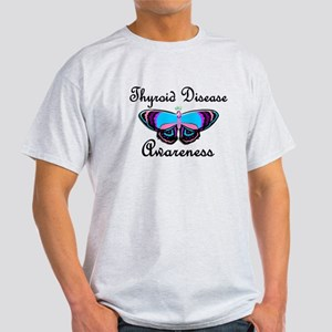 Butterfly Awareness 2 (Thyroid Disease) Light T-Sh