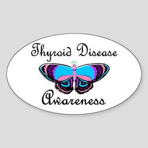 Butterfly Awareness 2 (Thyroid Disease) Sticker (O