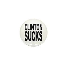 Clinton Sucks Mini Button