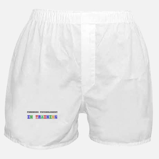 Forensic Psychologist In Training Boxer Shorts