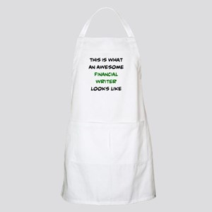 awesome financial writer Light Apron