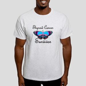 Butterfly Survivor 1 (Thyroid Cancer) Light T-Shir