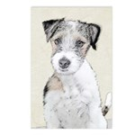 Russell Terrier (Rough) Postcards (Package of 8)