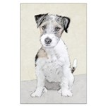 Russell Terrier (Rough) Large Poster