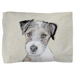 Russell Terrier (Rough) Pillow Sham