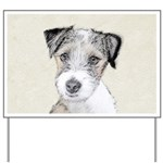 Russell Terrier (Rough) Yard Sign